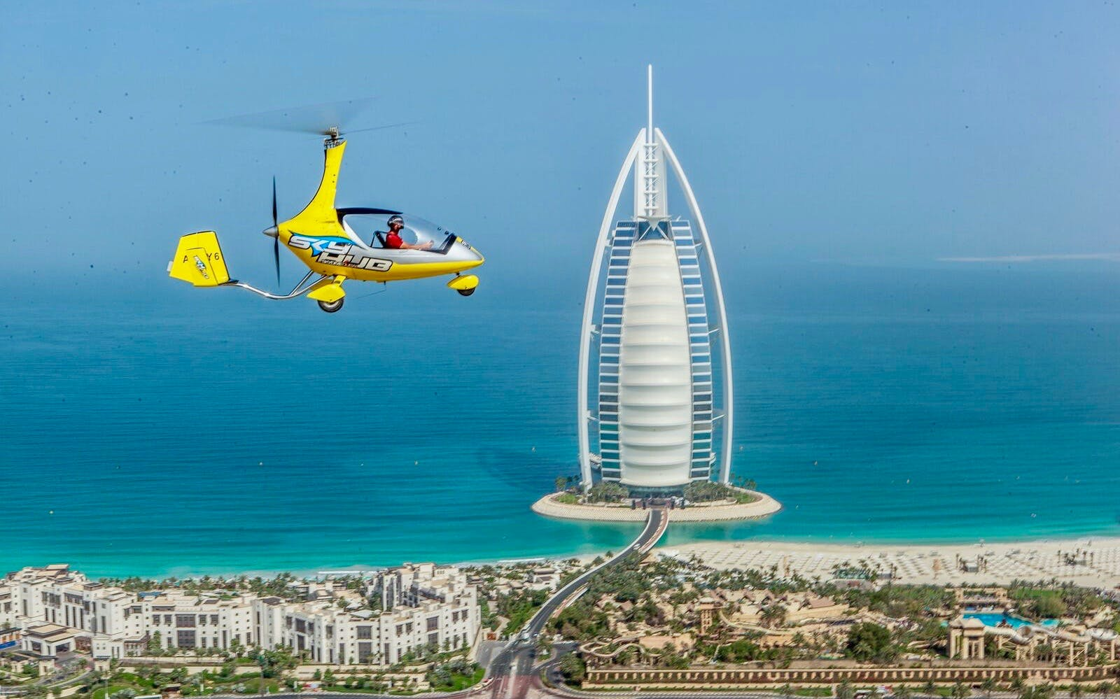 skyhub gyrocopter: private mini flight experience at the palm drop zone-1