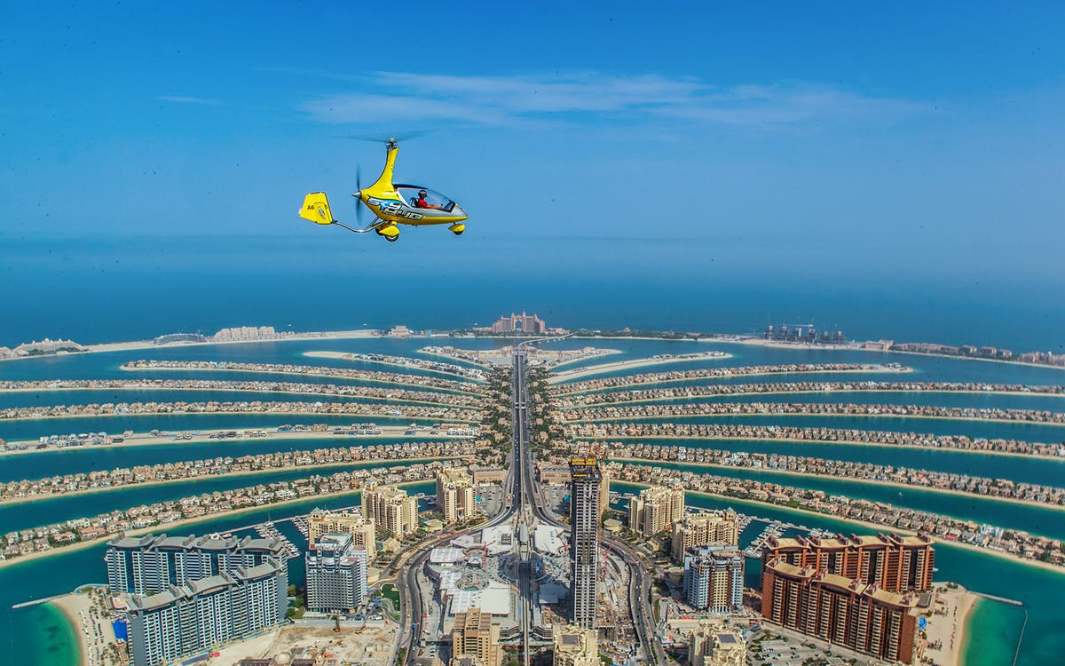 skyhub gyrocopter: private mini flight experience at the palm drop zone-4