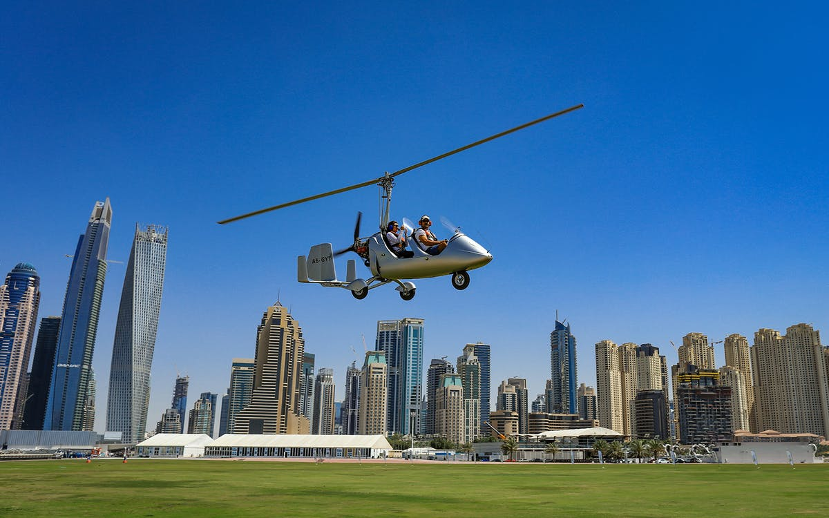 skyhub gyrocopter: private mini flight experience at the palm drop zone-2