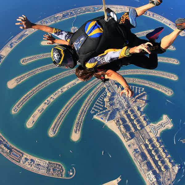 dubai skydiving palm drop zone