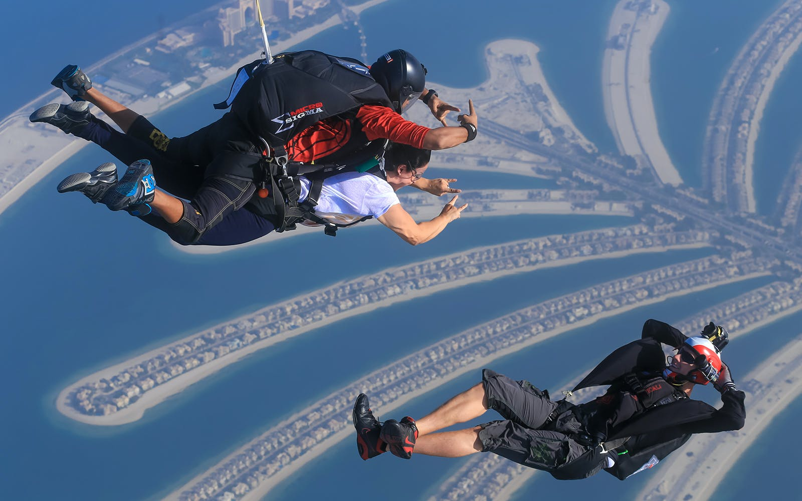 skydiving dubai - outdoor