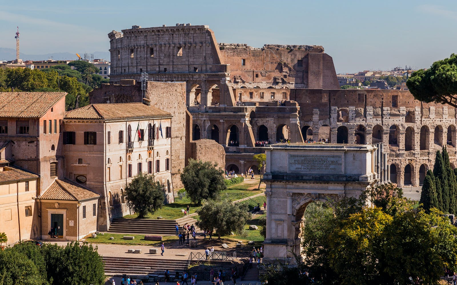 colosseum, ancient rome and roman vineyards with wine tasting small group tour -4