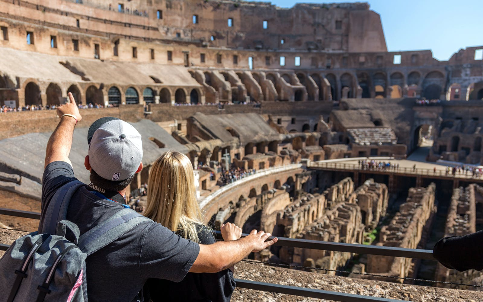 colosseum, ancient rome and roman vineyards with wine tasting small group tour -5