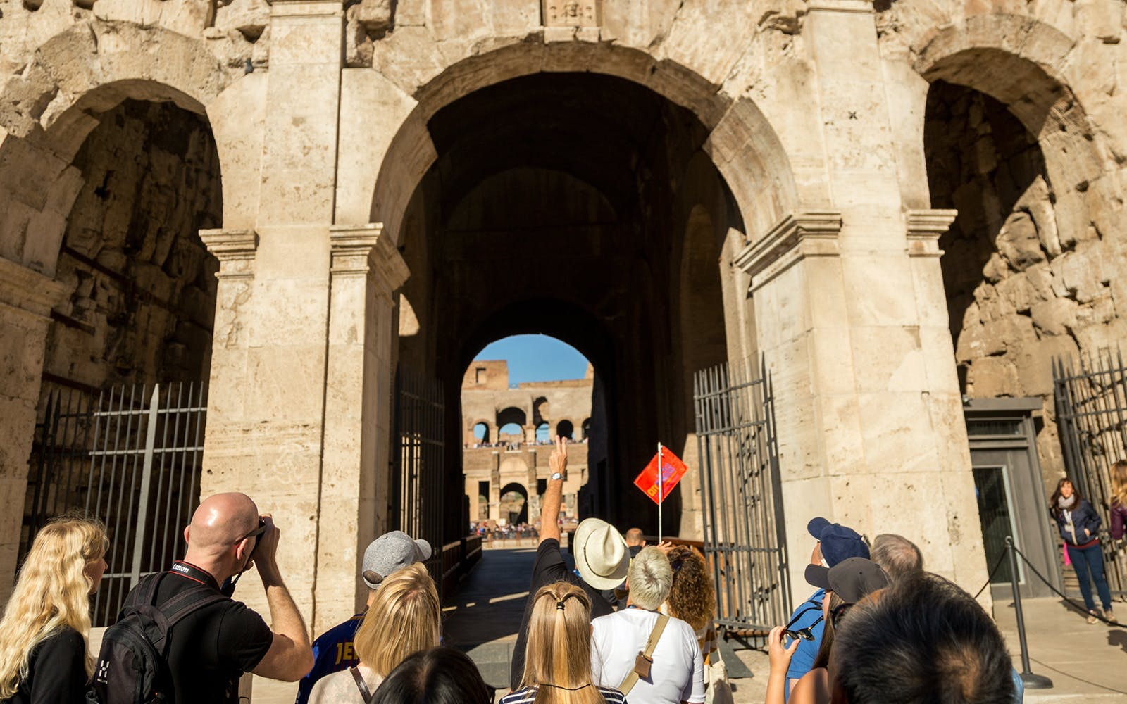 colosseum, ancient rome and roman vineyards with wine tasting small group tour -1