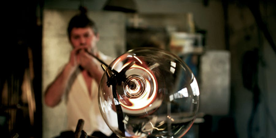 Venice in July - Art of Glassblowing