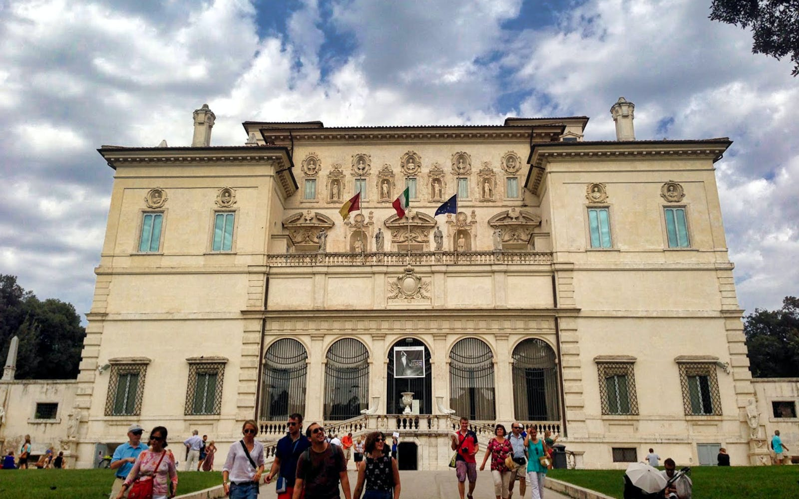 villa borghese gallery and gardens skip the line guided tour-1