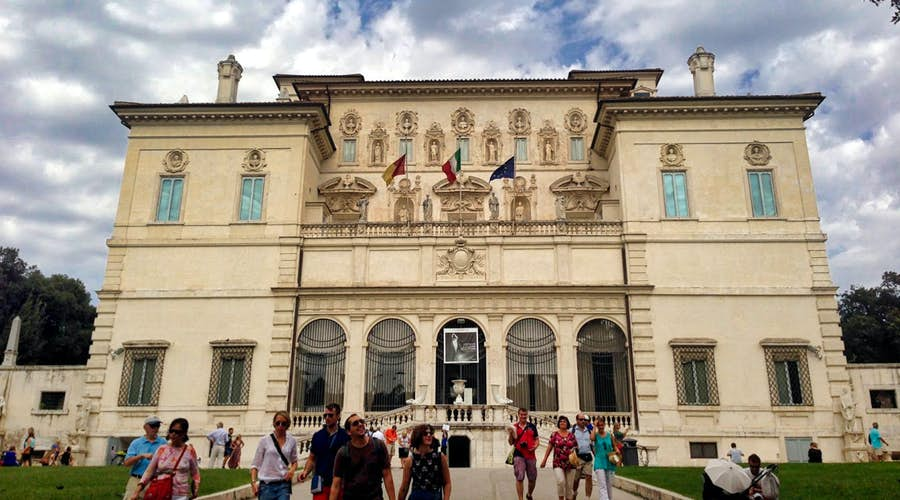 rome skip the line - the borghese gallery queue