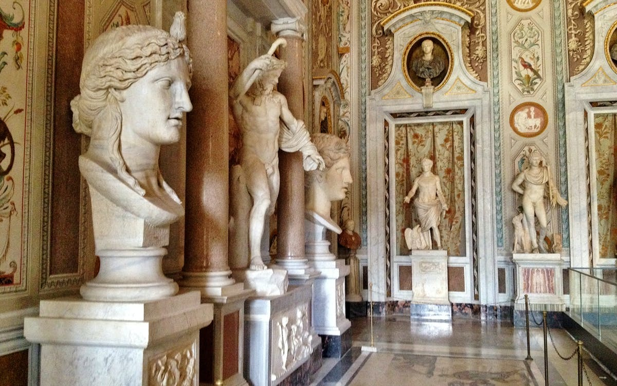 villa borghese gallery and gardens skip the line guided tour-2