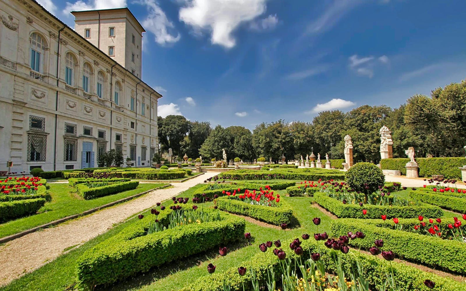 villa borghese gallery and gardens skip the line guided tour-3