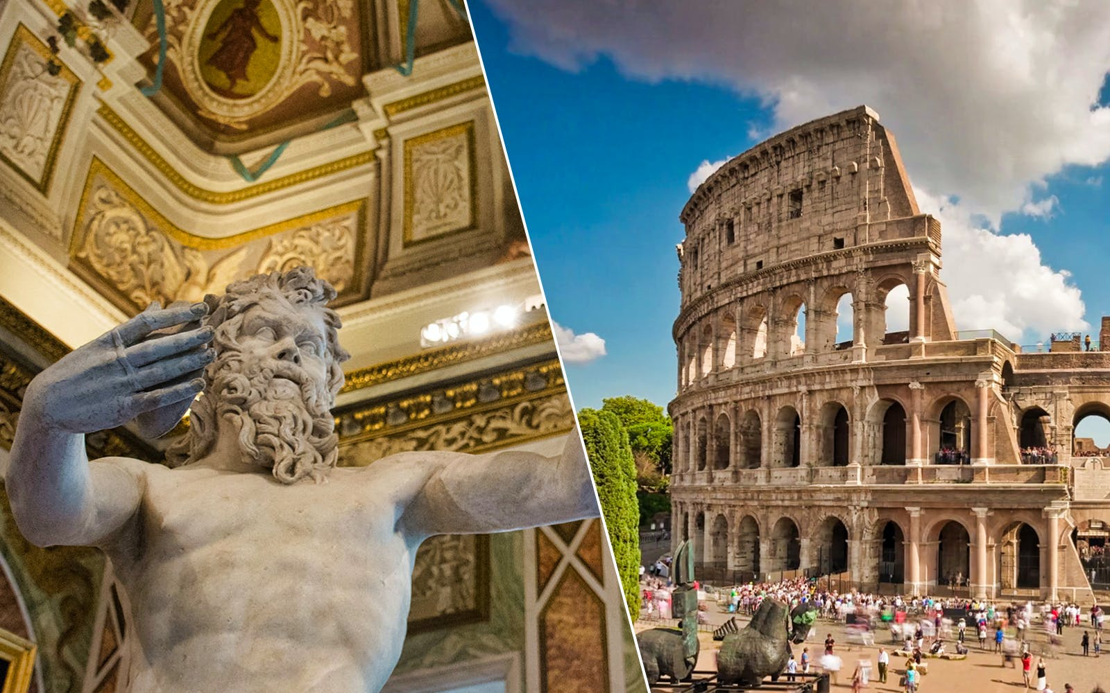 Borghese Gallery & Colosseum Half Day Guided Tour with Roman Forum