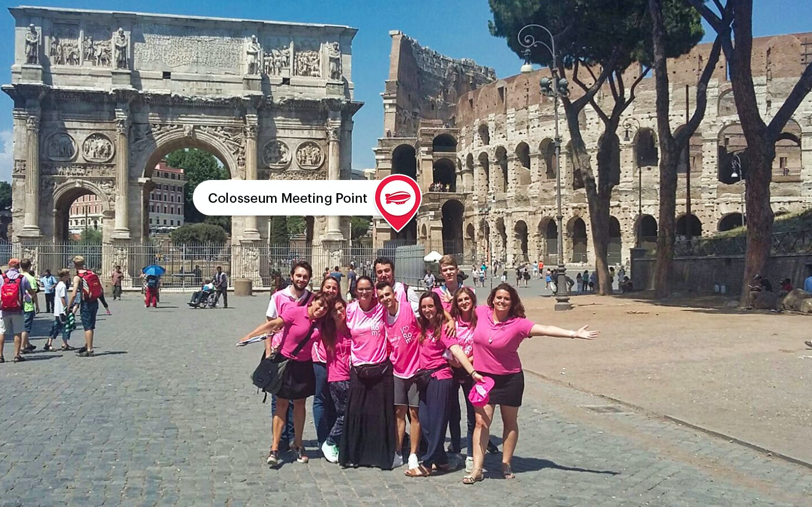 borghese gallery & colosseum half day guided tour with roman forum-4