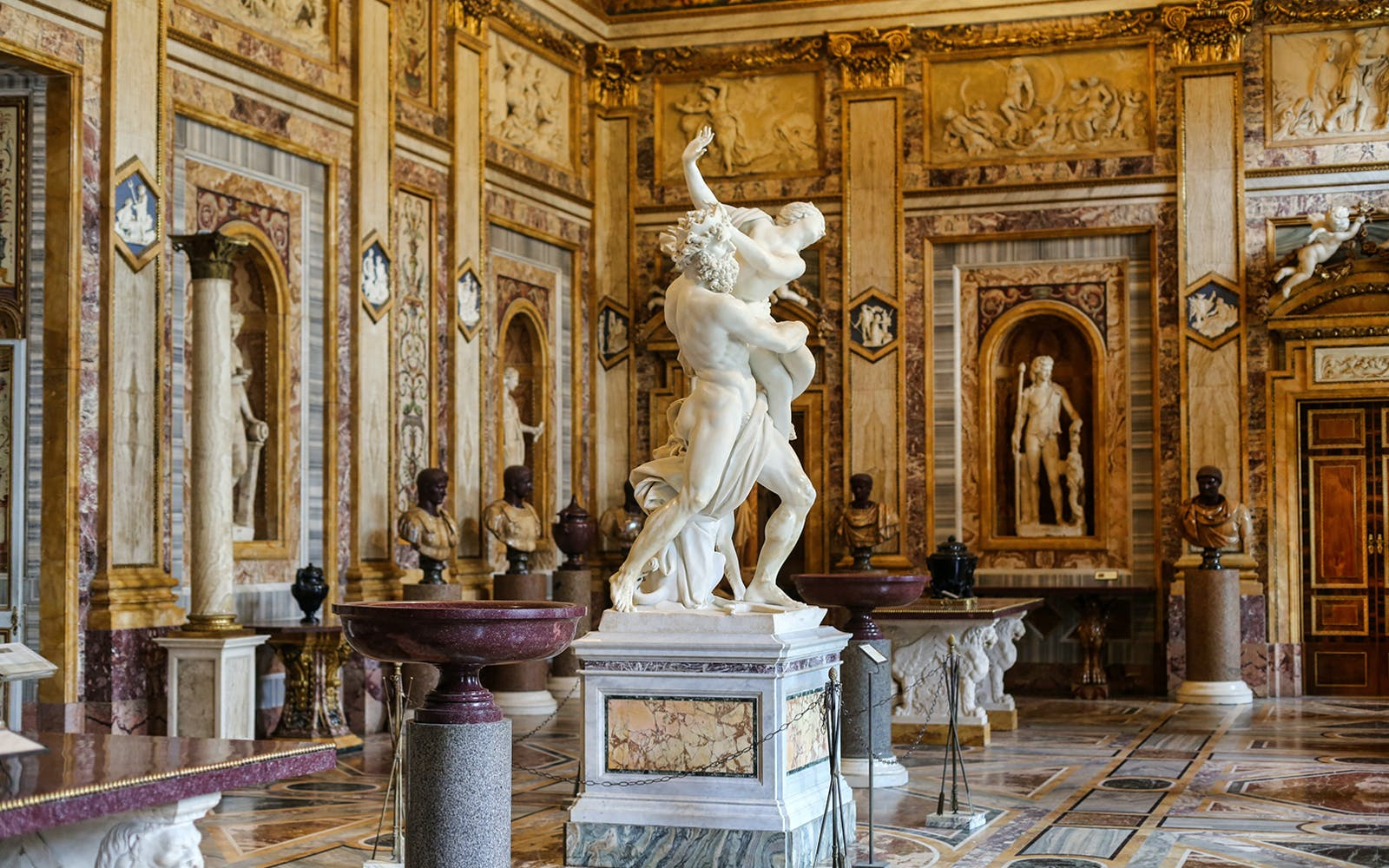 borghese gallery & colosseum half day guided tour with roman forum-2