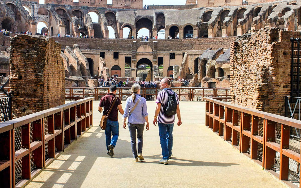 borghese gallery & colosseum half day guided tour with roman forum-5