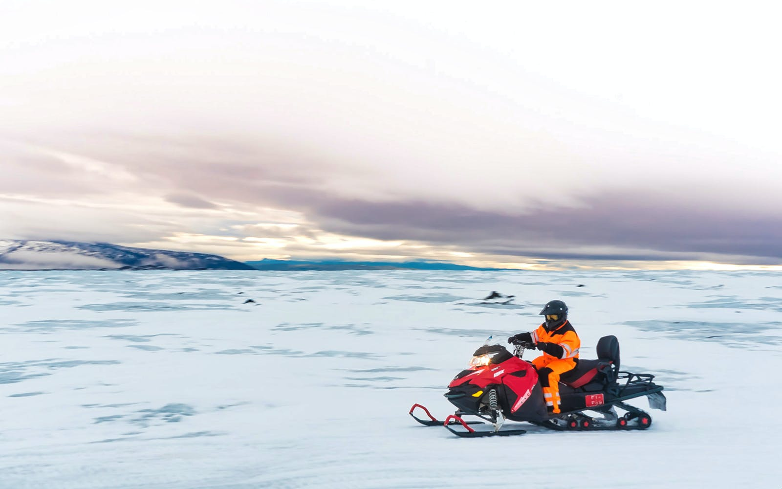 golden circle tour with langjokull glacier snowmobile ride-4