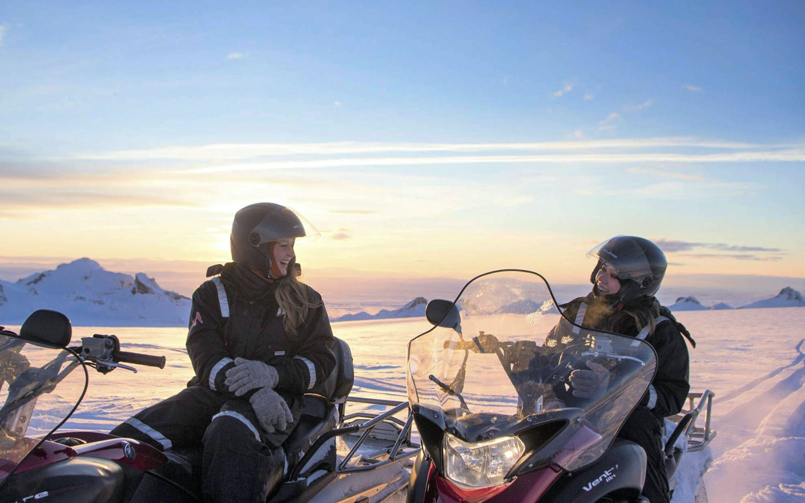 golden circle tour with langjokull glacier snowmobile ride-3