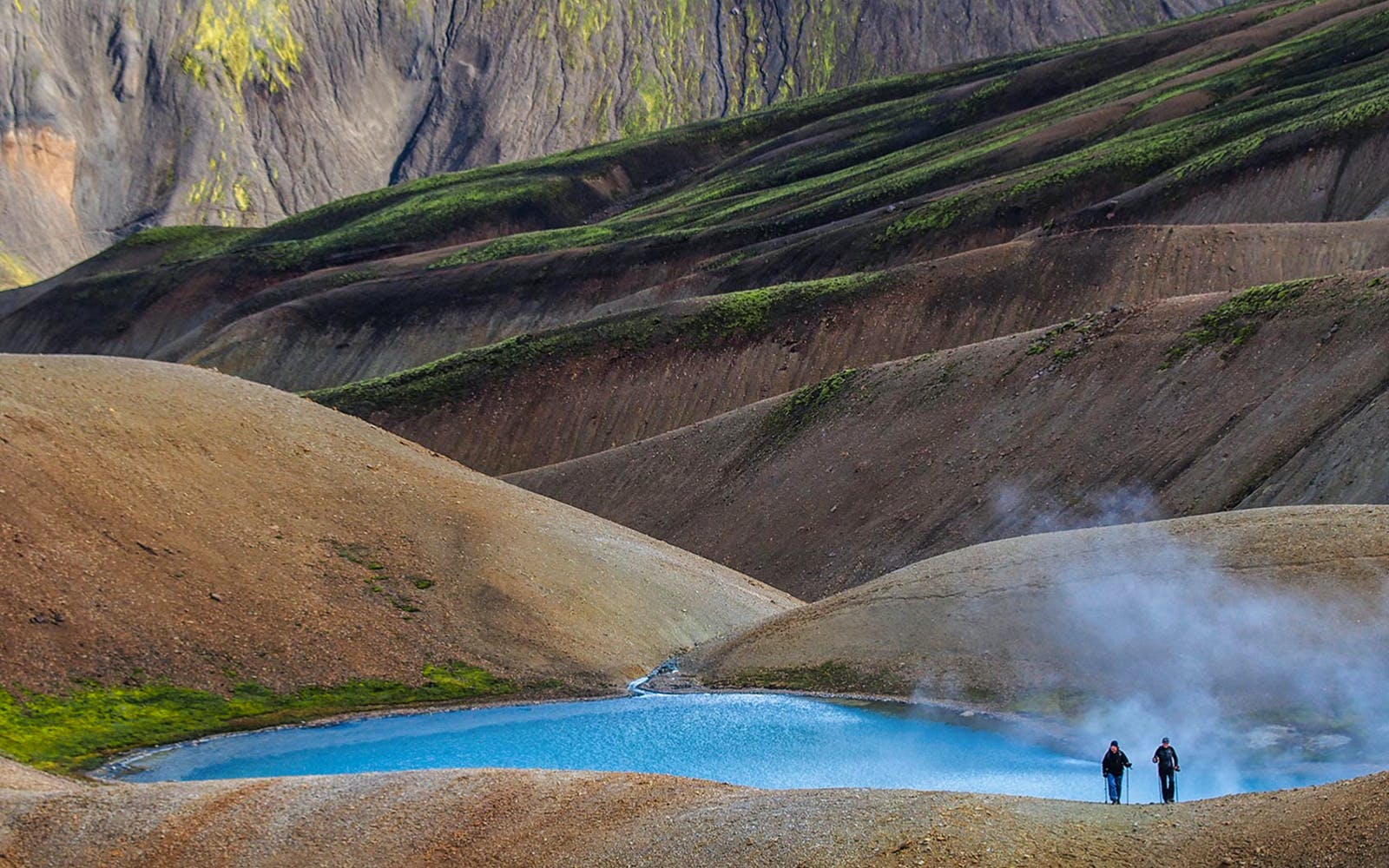 Solo Hiking tour of the Landmannalaugar Highlands