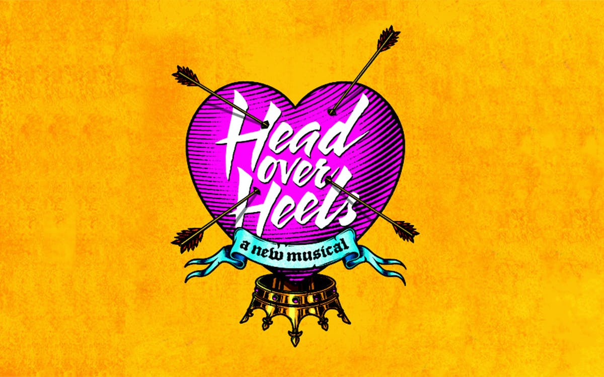 Head Over Heels Broadway tickets -1