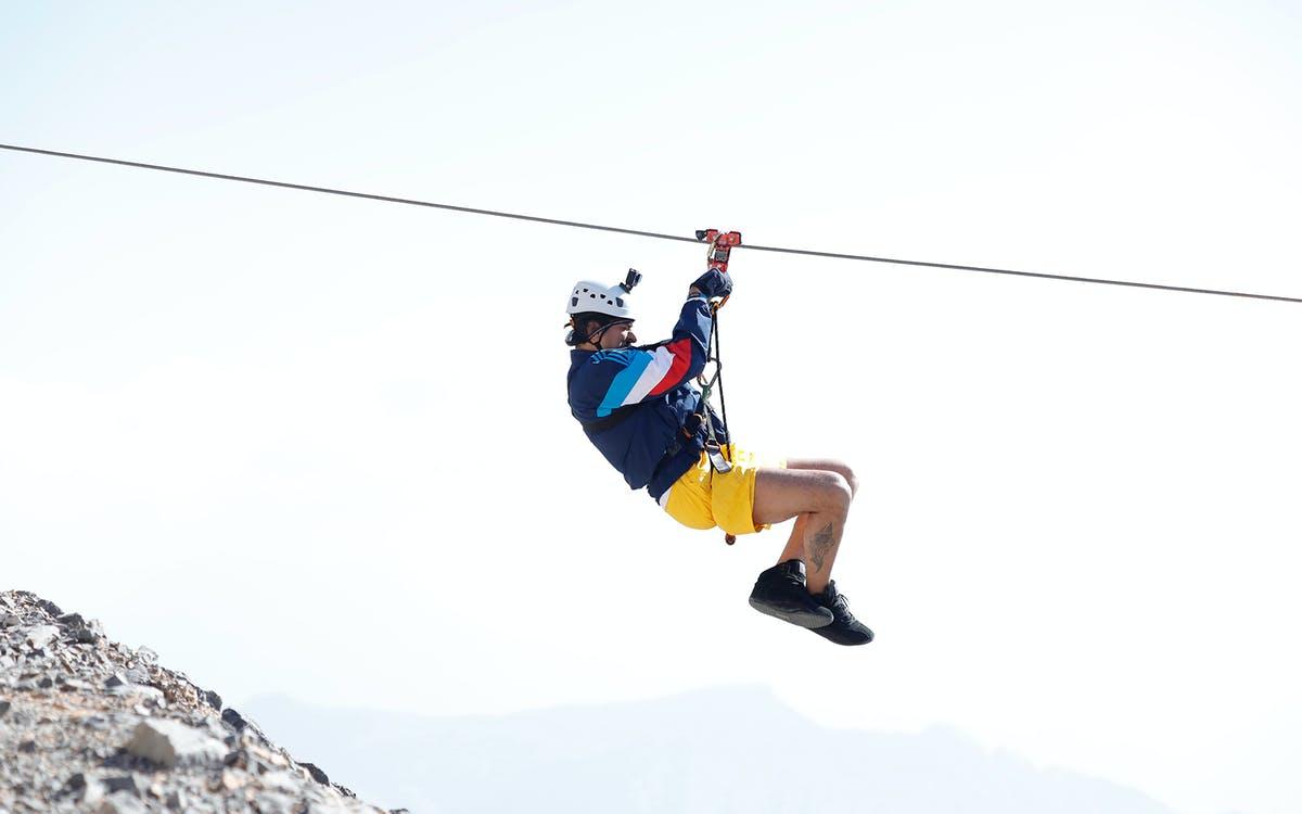 jebel jais flight – world's longest zipline-1