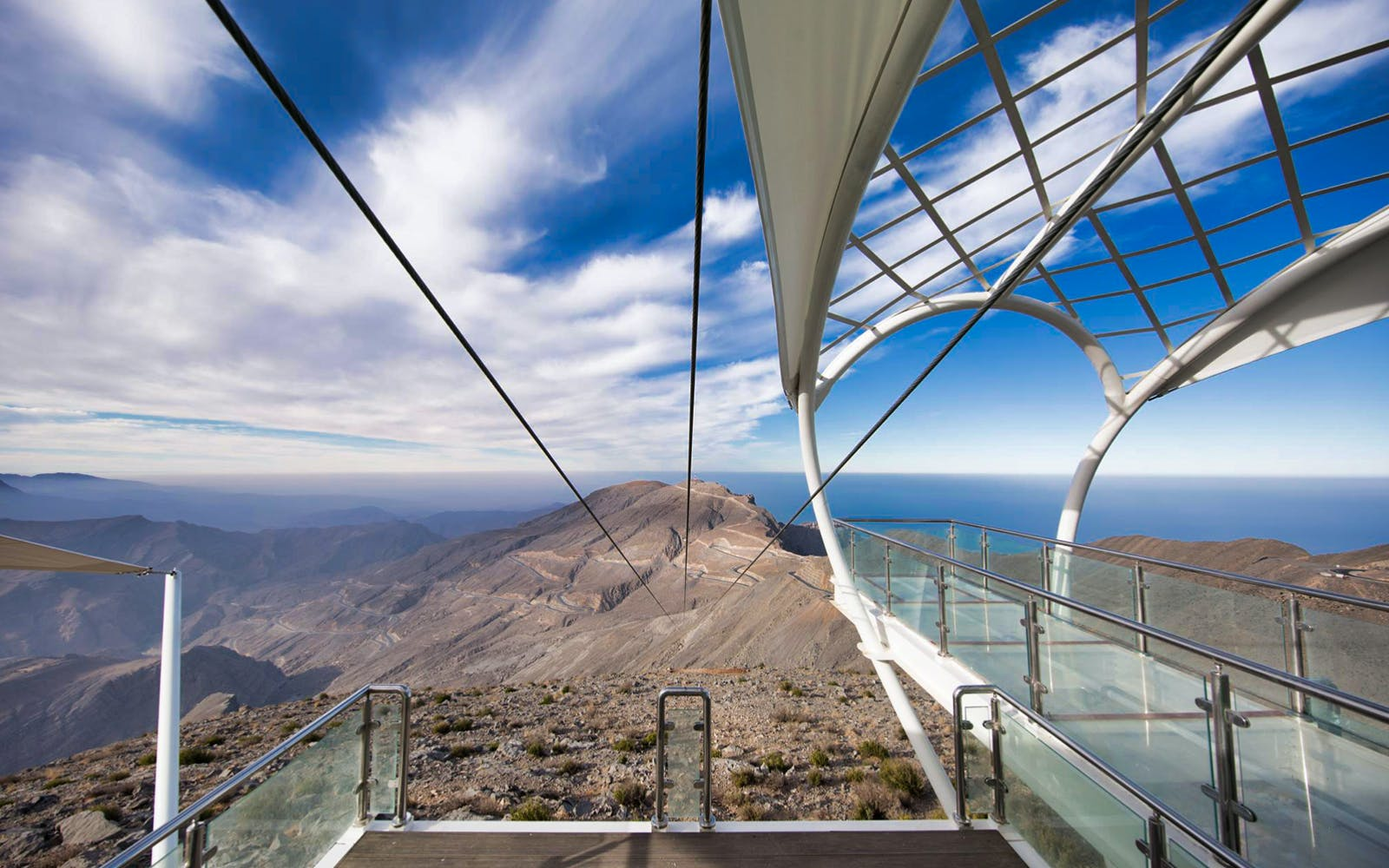 jebel jais zip line + mountain lunch with transfers-8