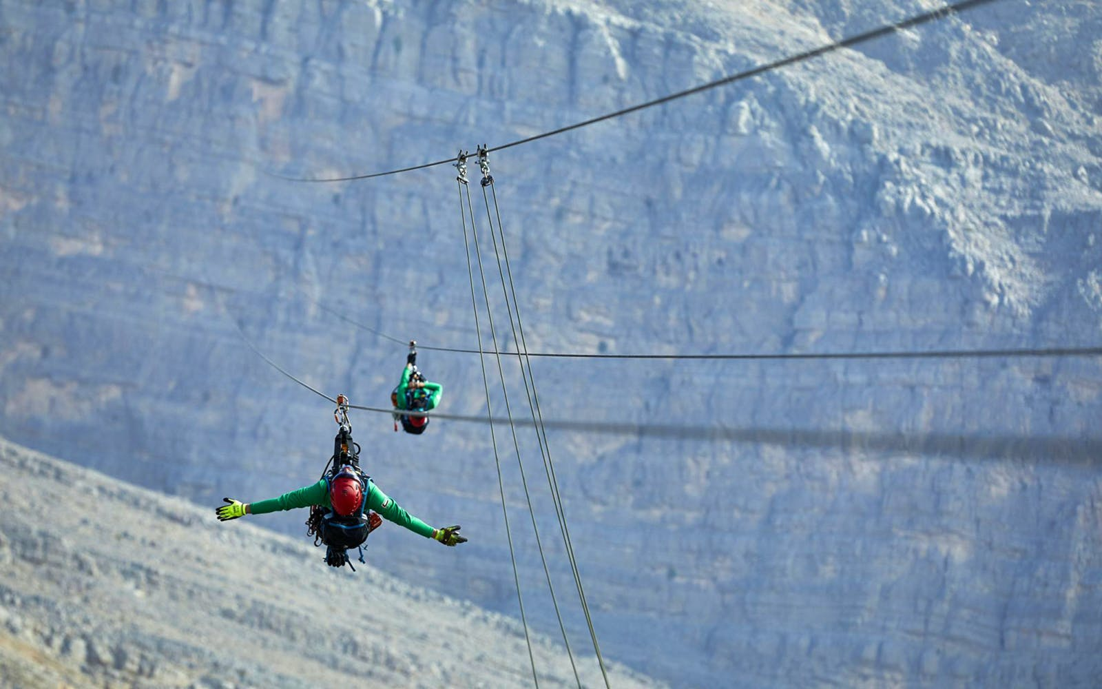 jebel jais zip line + mountain lunch with transfers-7