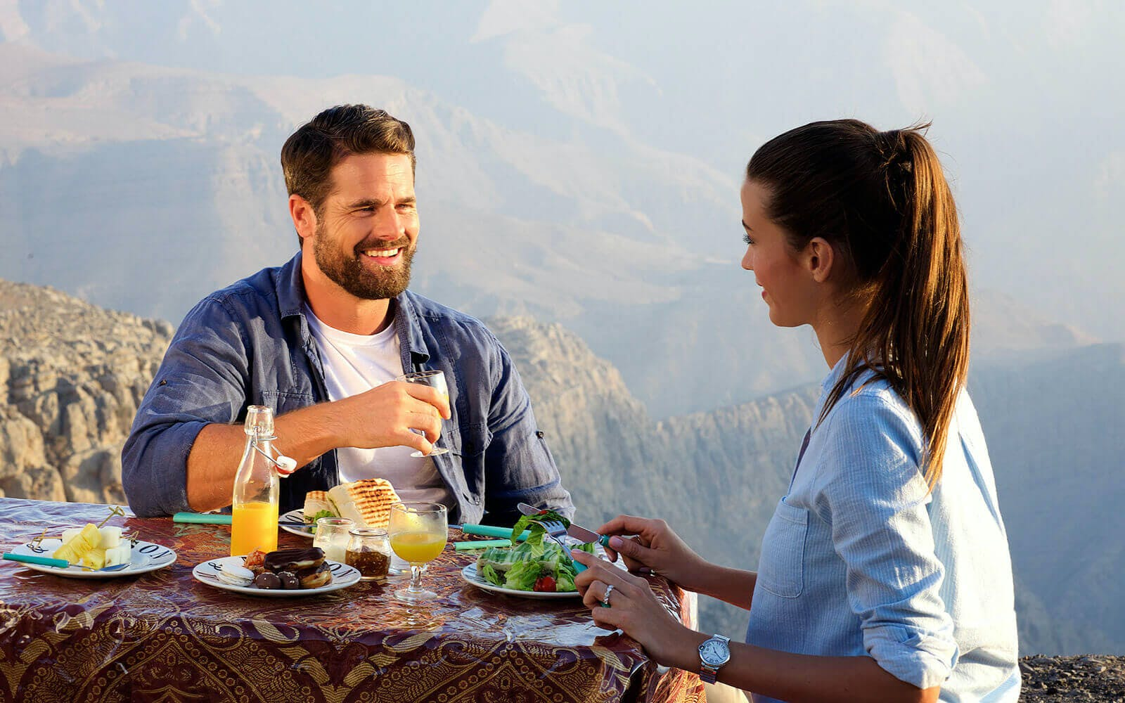 jebel jais zip line + mountain lunch with transfers-4
