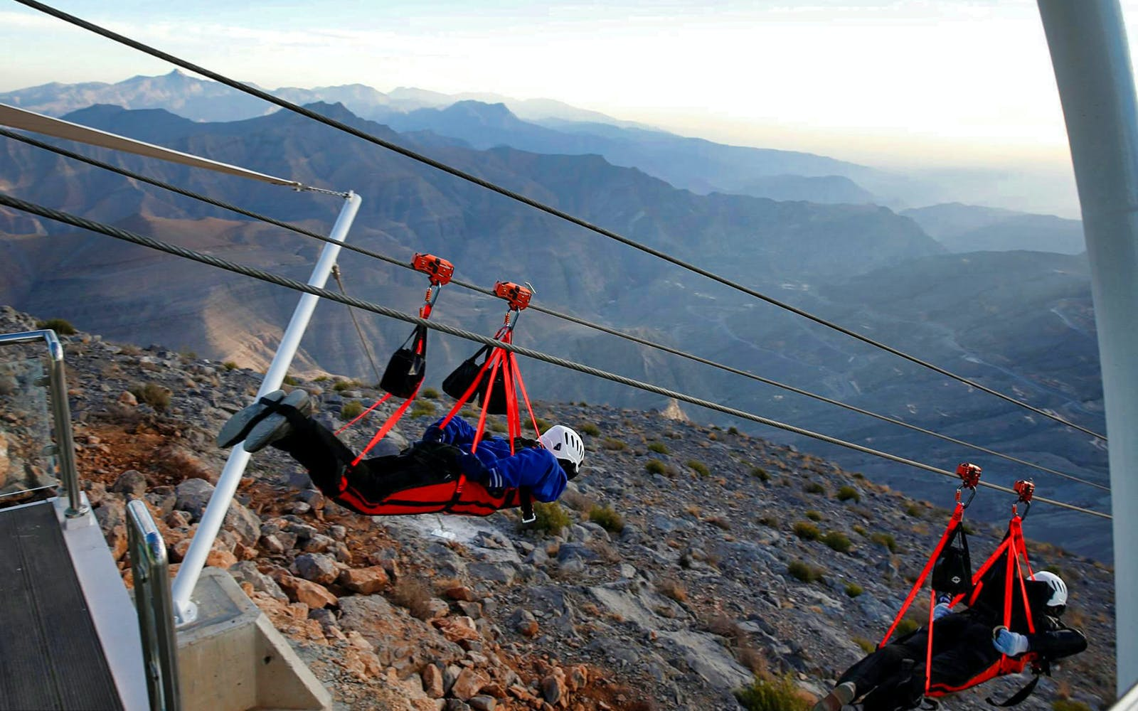 jebel jais zip line + mountain lunch with transfers-3
