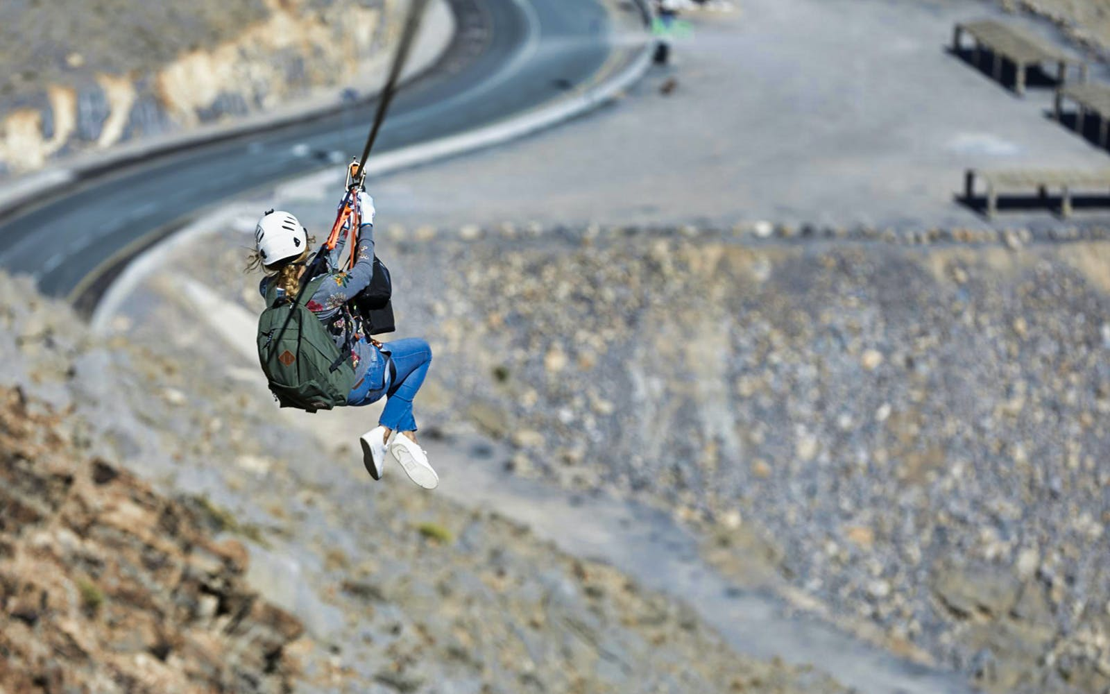jebel jais zip line + mountain lunch with transfers-5
