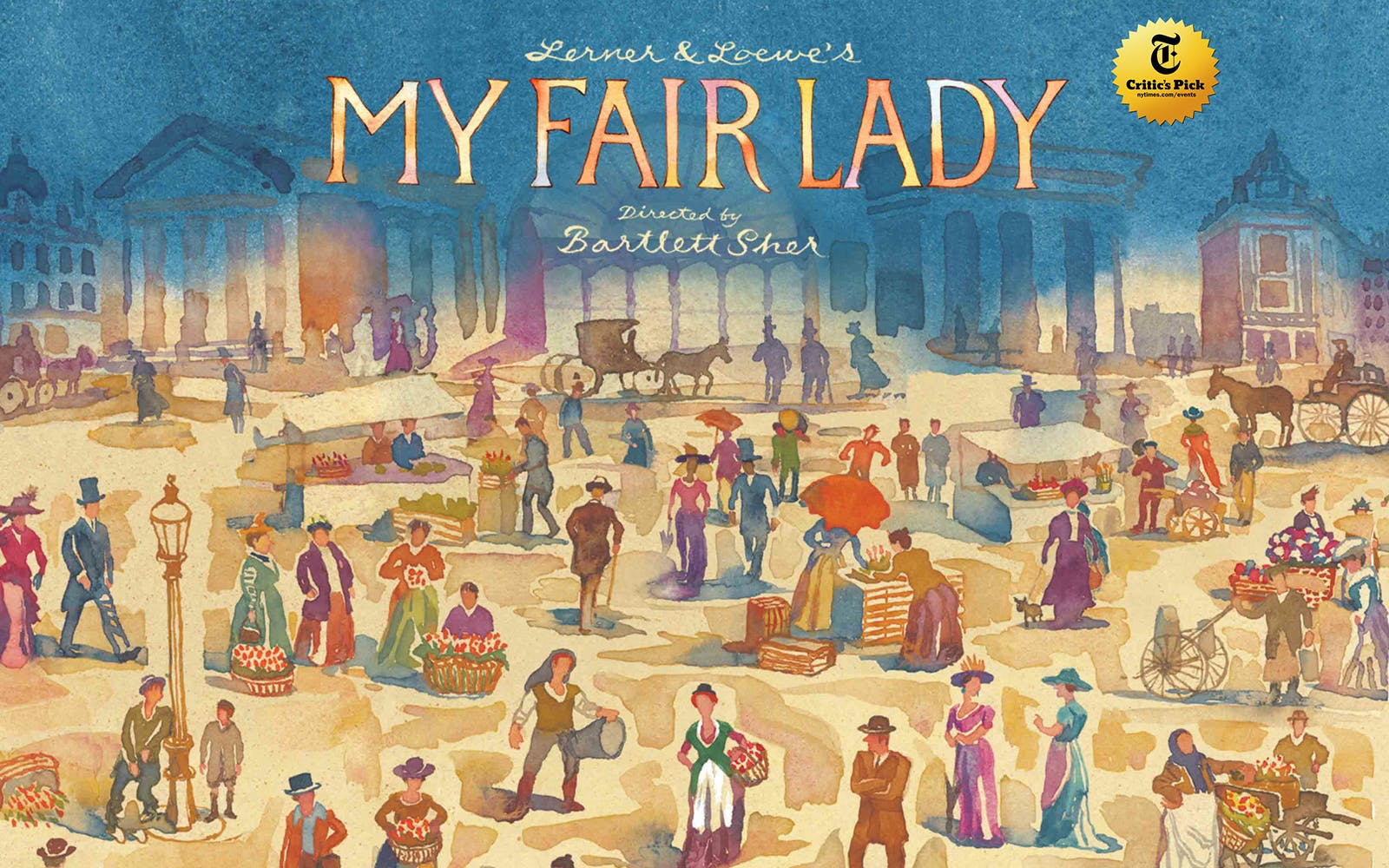 My Fair Lady broadway lottery
