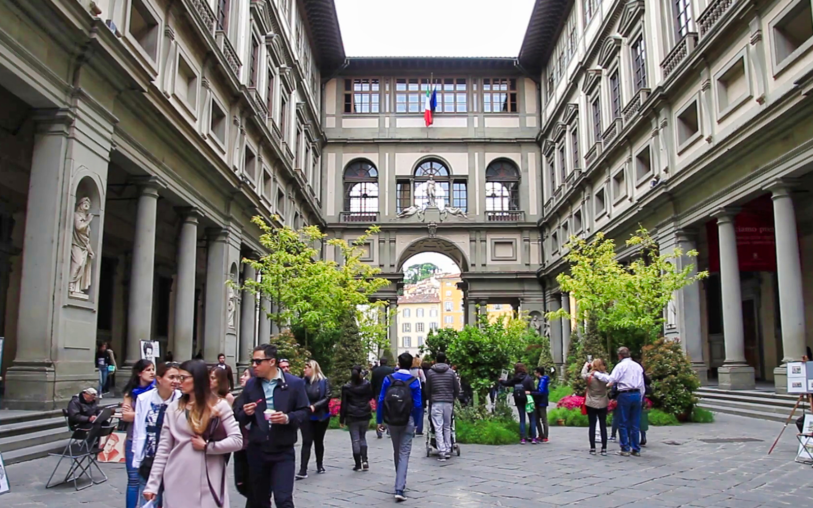 Italian Florence: Uffizi And Accademia Galleries With Audio