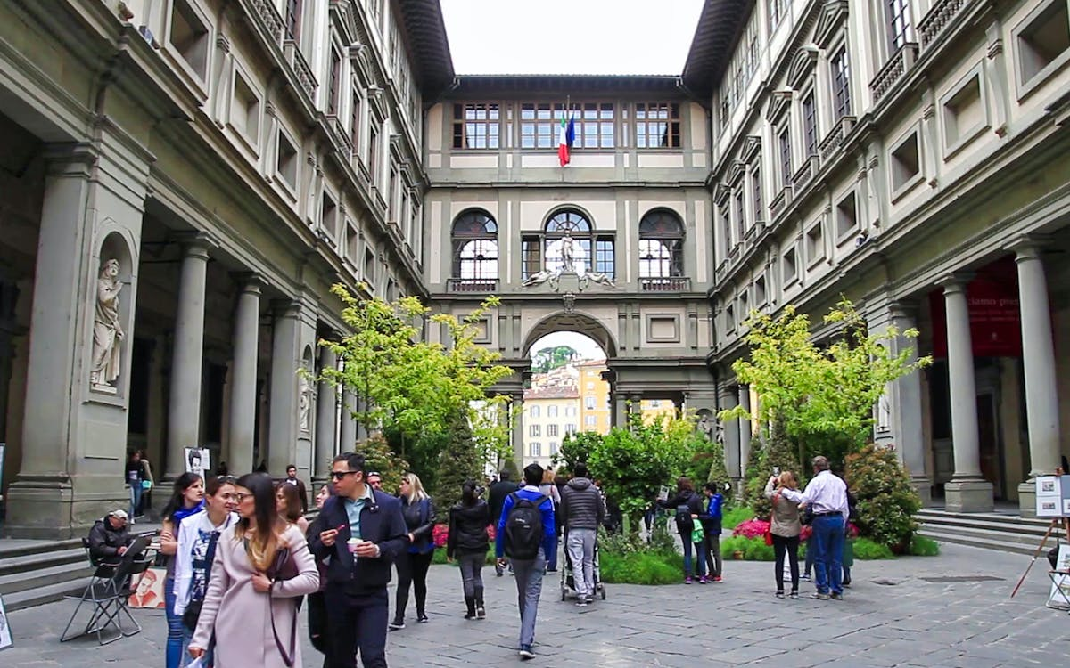 morning guided tour of uffizi and accademia galleries with priority access-1