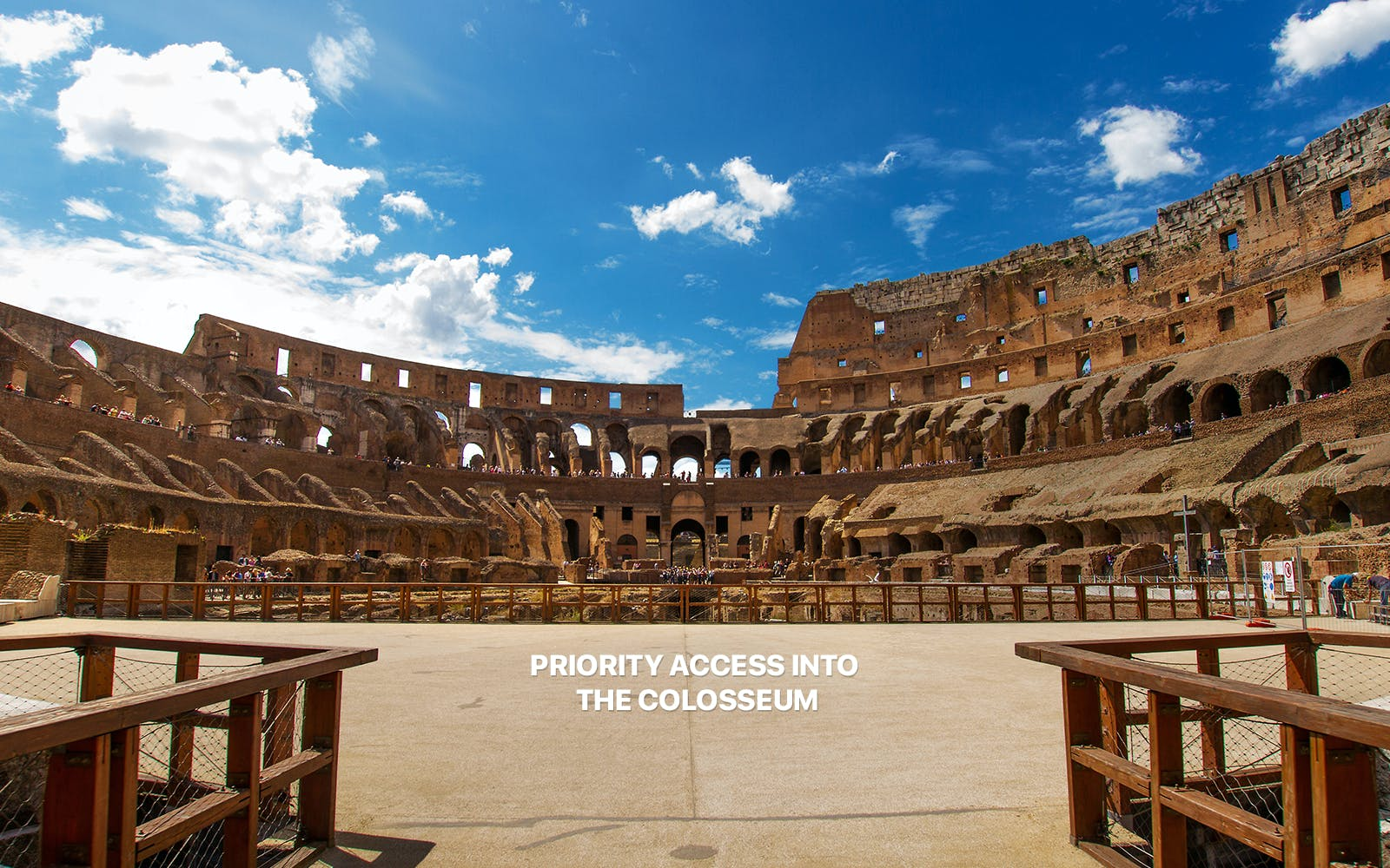 skip the line guided tour of colosseum with arena access, roman forum & palatine-3