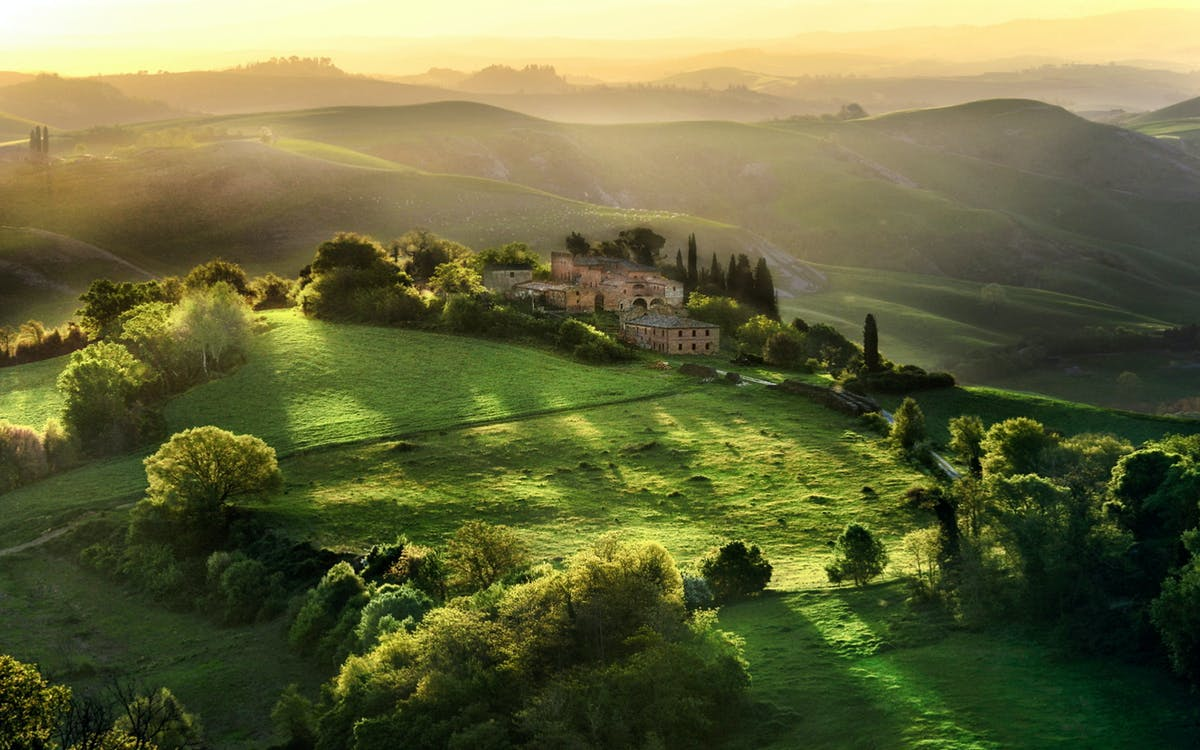 Italian Florence: Excursion To Pisa Through The Tuscan Countryside