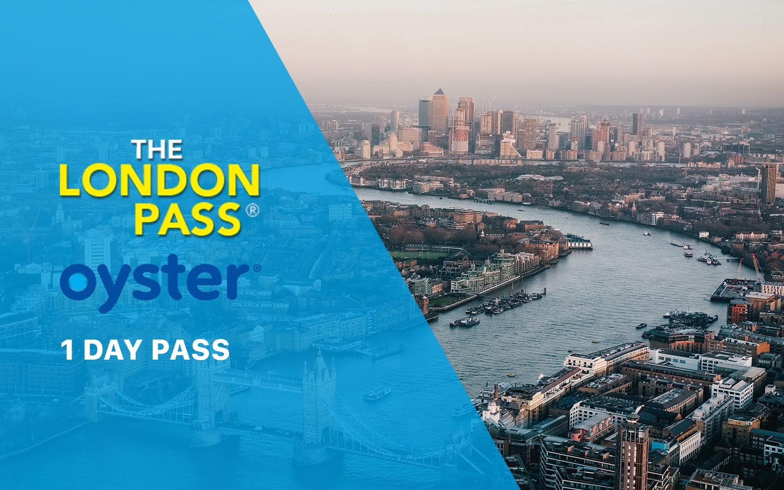 1 Day London Pass with Oyster Travel Card