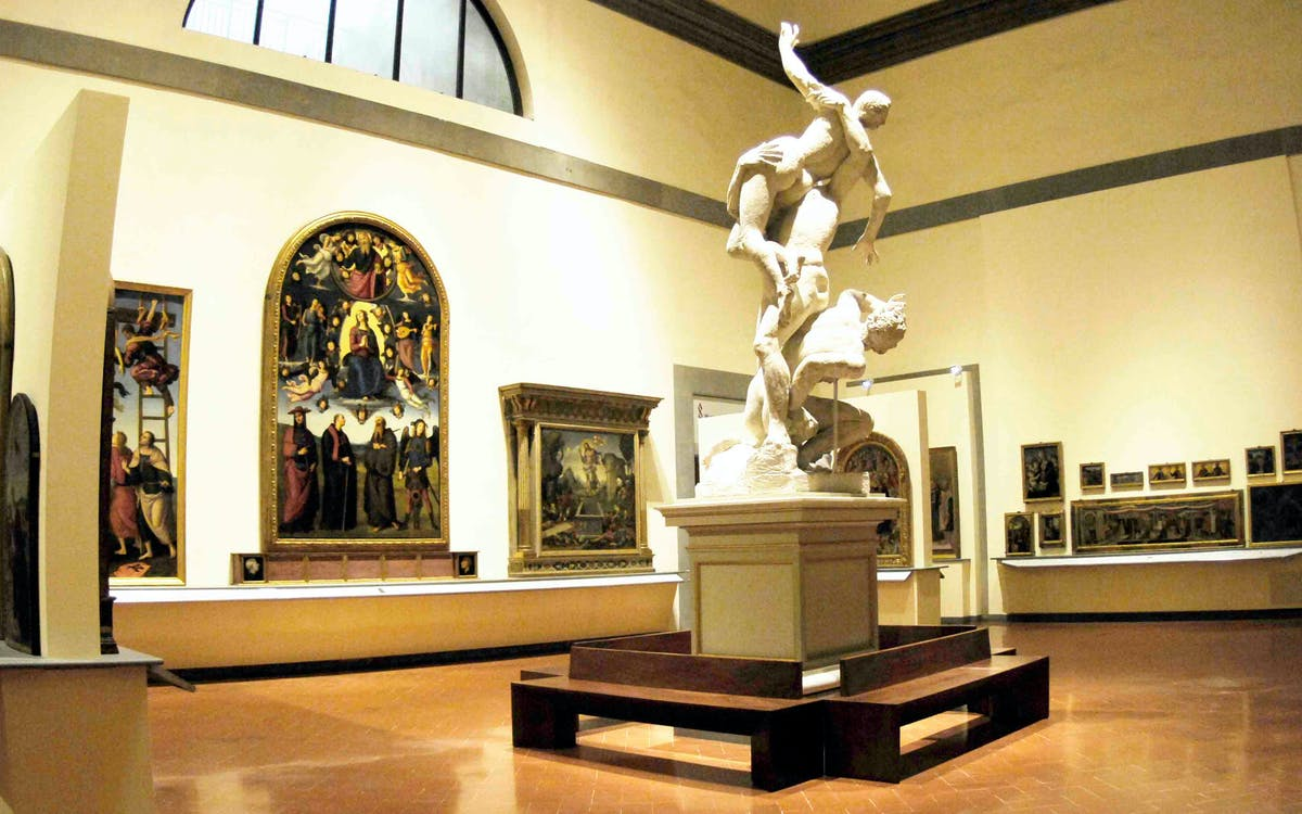 accademia gallery guided tour with skip the line tickets	-1