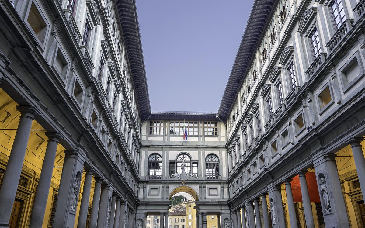 skip the line guided tour of uffizi gallery-1