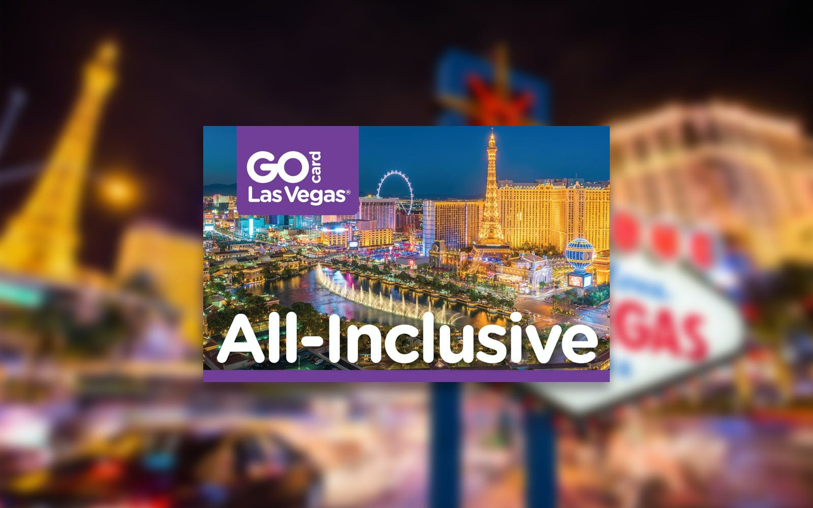 Go Card Las Vegas: 2, 3, 4 & 5 Day Pass