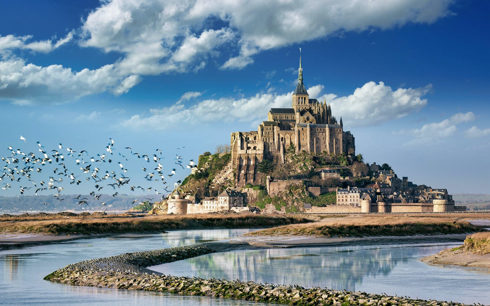 Mont St. Michel Full Day Guided Tour with Lunch from Paris