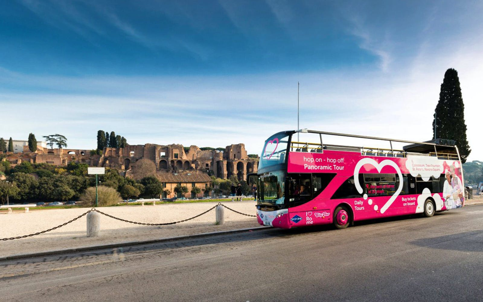 i love rome: 24 hour - hop on hop off bus tour with audio guide-2