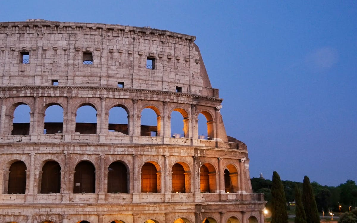 colosseum skip the line & sightseeing hop on hop off bus tour-1