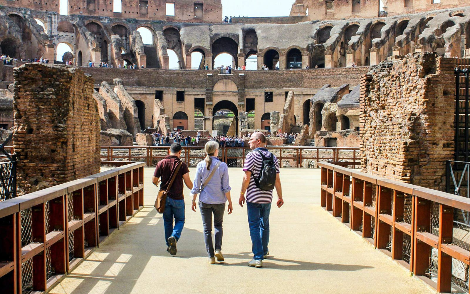 colosseum skip the line & sightseeing hop on hop off bus tour-3