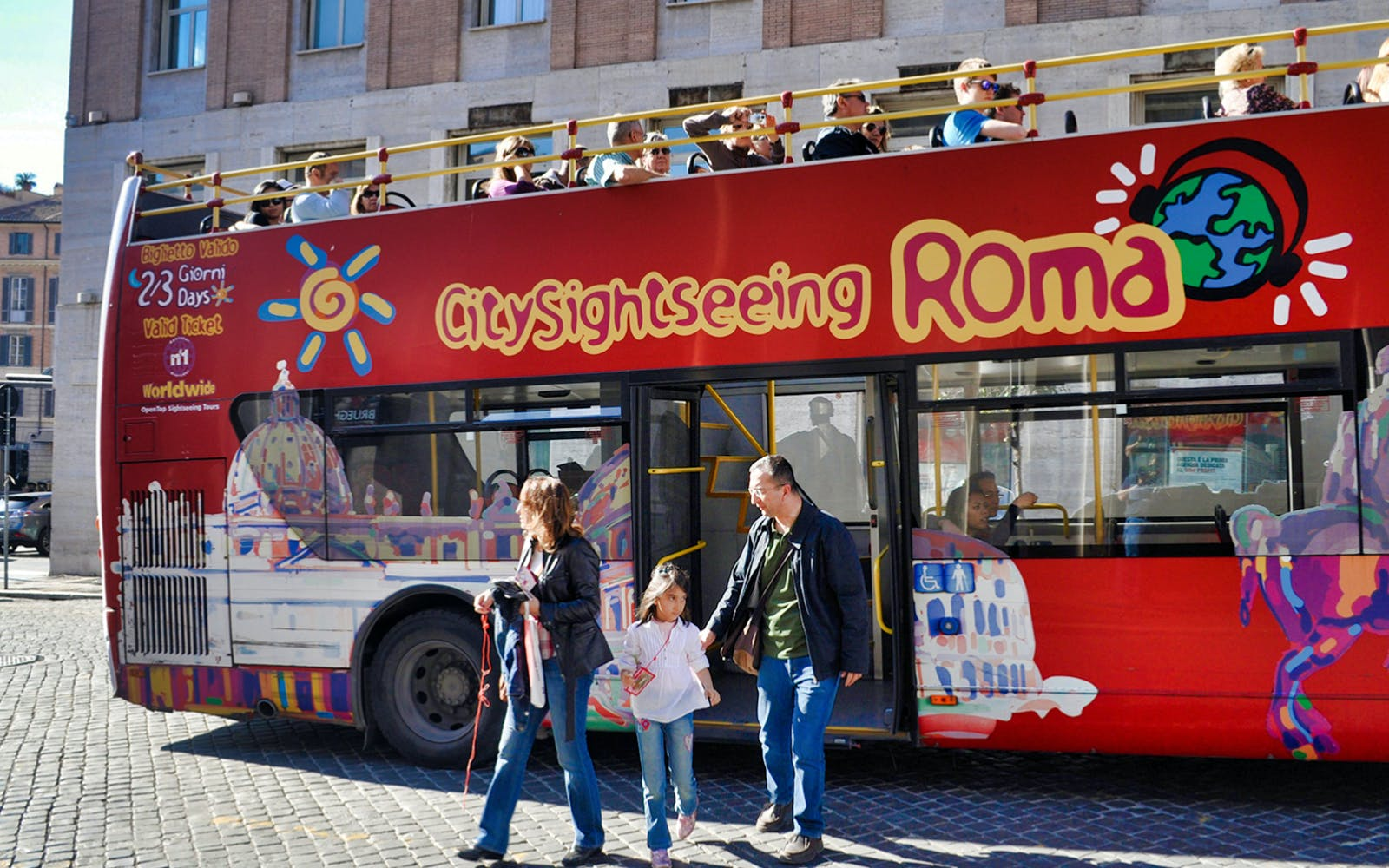 Rome Sightseeing Pass: Vatican, Colosseum, Public Transport & Hop on Hop Off