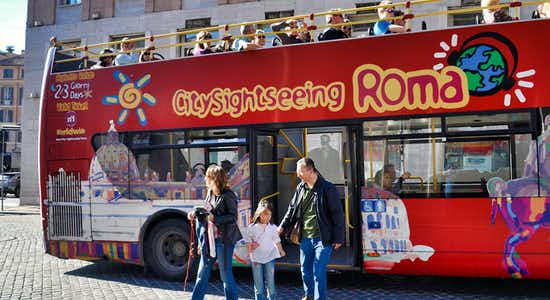 Rome Sightseeing Max Pass: Colosseum, Vatican & 48h Hop On Hop Off Tour