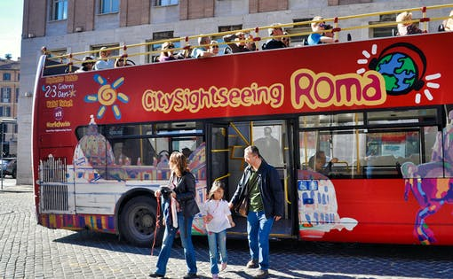 Pass Touristique de Rome: Vatican, Colisée, Transport en commun & Bus Hop-On Hop-Off