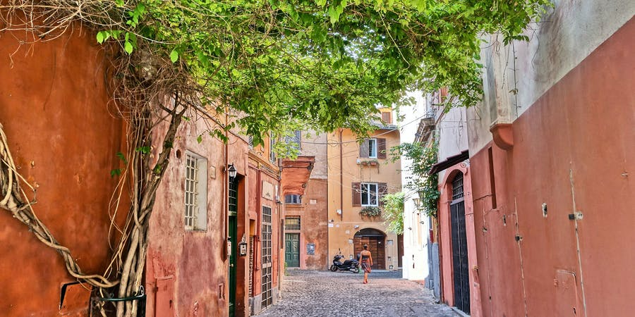 Rome in August - Trastavere