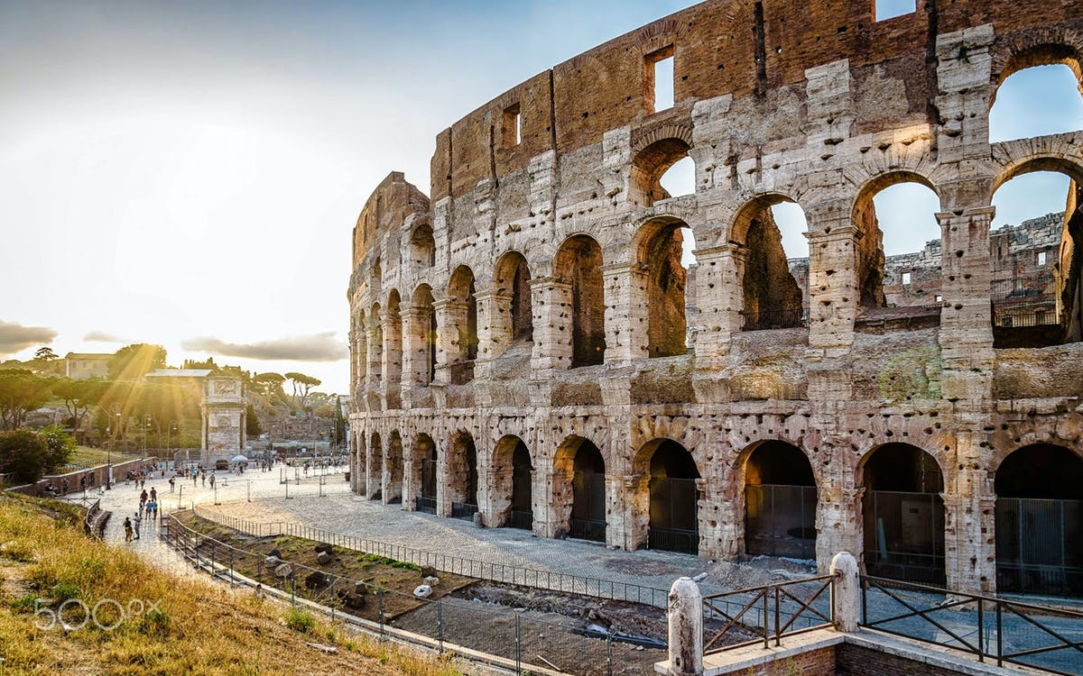 walk on walk off: flexible rome with colosseum tickets & roma pass-1