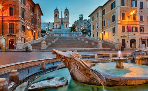 Best of Rome: Walking Tour with Spanish Steps, Trevi Fountain & Pantheon