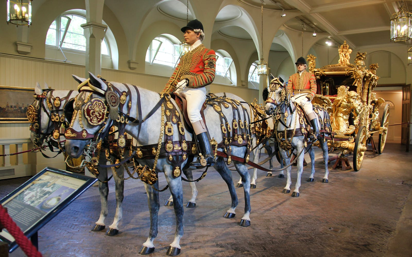 Entrance Tickets to The Royal Mews of the Buckingham Palace