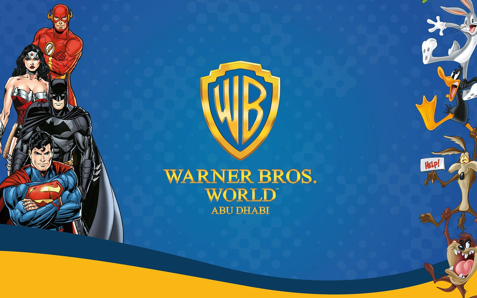 Warner Bros. World with All Ride Quick Pass