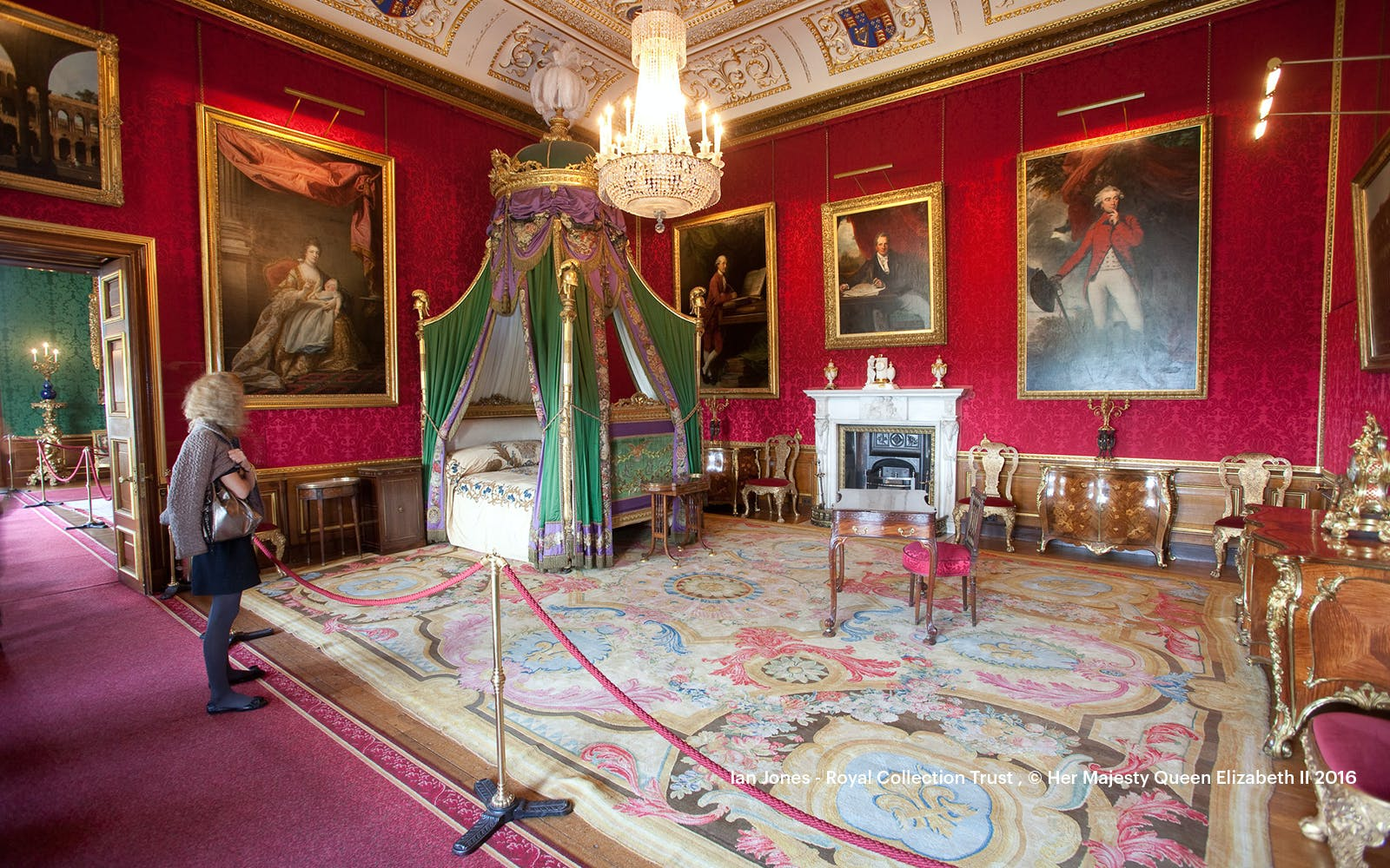 buckingham palace state rooms tour-4