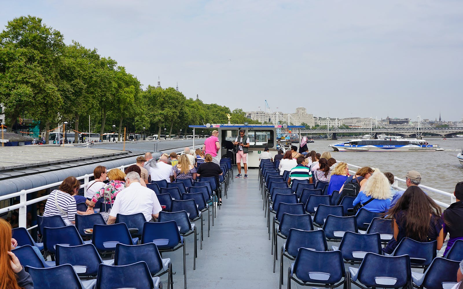 Thames River Circular Cruise from Westminster to St. Katherines